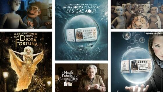 Loteria de Navidad Commercials